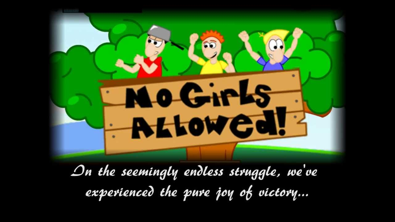No Girls Allowed - YouTube