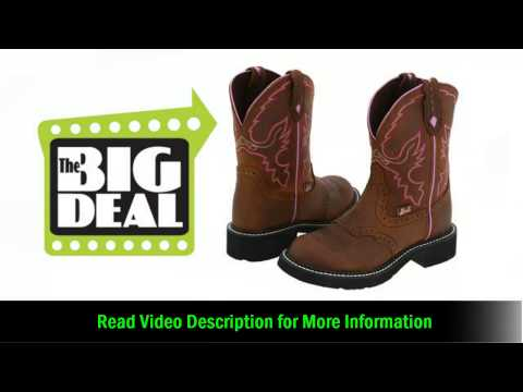 Justin Gypsy Cowgirl Coll Aged Bark Boot Best Price Online Deal