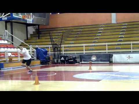 Serbian Basketball Shooting by professional player