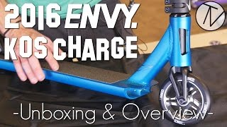 Envy KOS Charge Complete - Unboxing and Overview │ The Vault Pro Scooters