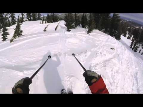 GoPro Line of the Winter: Hudson Knoll - Mt. Bachelor, Oregon 02.6.16 - Snow