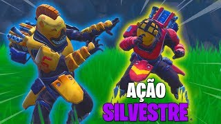 WILD ACTION TO VICTORY AVEC ANIMALESQUE SKINS!!! -Fortnite Bataille Royale