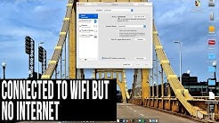 FASTEST FIX! Mac Connected to WiFi But No Internet
