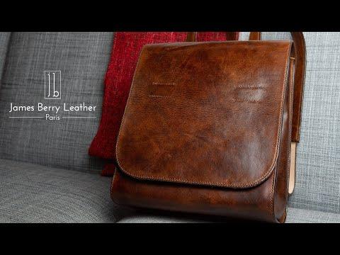 Randoseru style leather backpack build