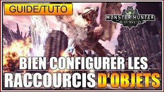 GUIDE/TUTO - COMMENT BIEN CONFIGURER LES RACCOURCIS D'OBJETS - MH WORLD - FR