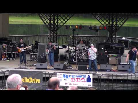 Nashville Drive opening for Robert Randolph and the Family band the the Brews and BBQ Festival at Ives Concert Park