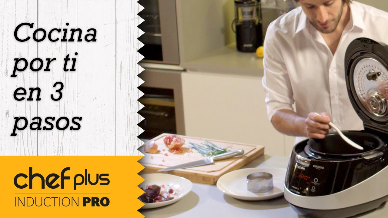 La Chef Cocina Por Ti | Robot Chef Plus Cocina Por Ti En 3 Pasos Spot Chef Plus Induction