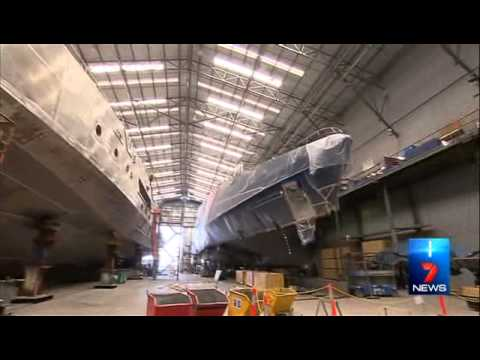 Cape Class Patrol Boat featured on Seven News Perth 14 Oct 2014