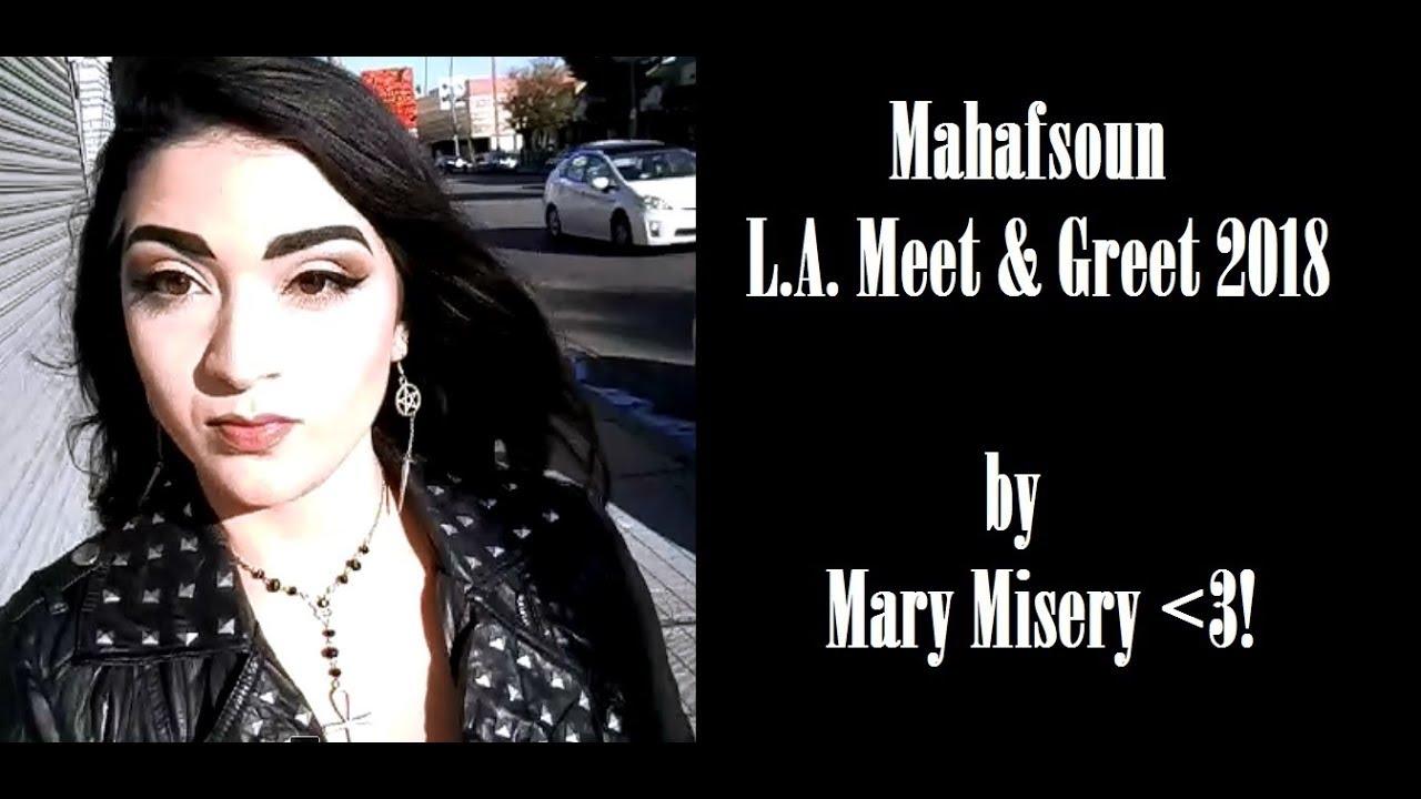 Mahafoun la meet greet 2018 clips youtube mahafoun la meet greet 2018 clips kristyandbryce Choice Image