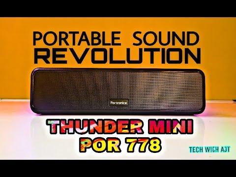 Portronics Thunder Mini (POR - 778) Unboxing & Review || Bass & Sound Test