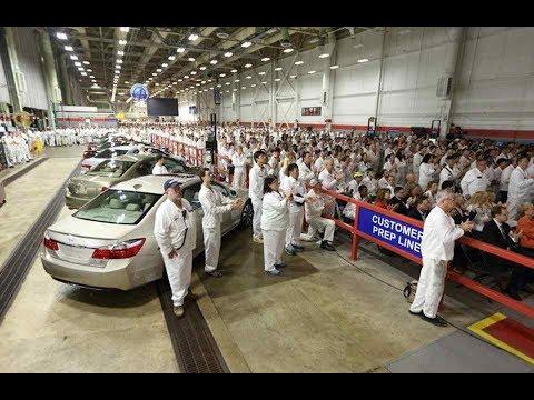 2018 Honda Accord production begins at Marysville, Ohio plant - Car News