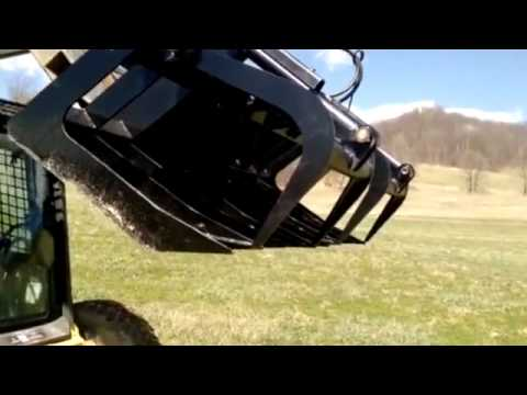 Titan Attachments Grapple Attachment for Skid Steer