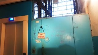 Распашной лифт с нижним МП в паре с... Otis GEN2!