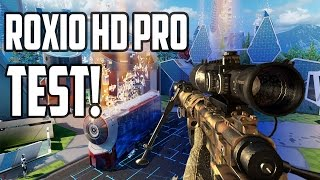 Roxio Game Capture HD Pro Test - Blackops 3 Xbox one Gameplay!