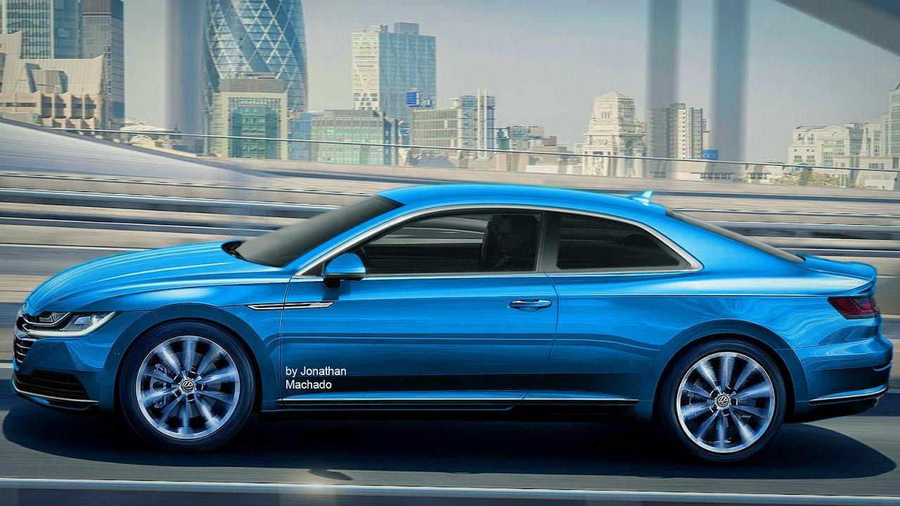 RENDER 2018 Volkswagen Arteon Coupe #VW