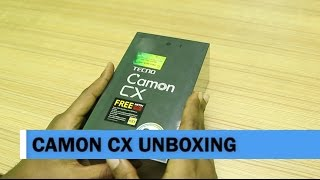 TECNO Camon CX Unboxing and First Impressions