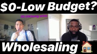 Best Way To Wholesale With $0 Or Low Budget By The Real Max Maxwell