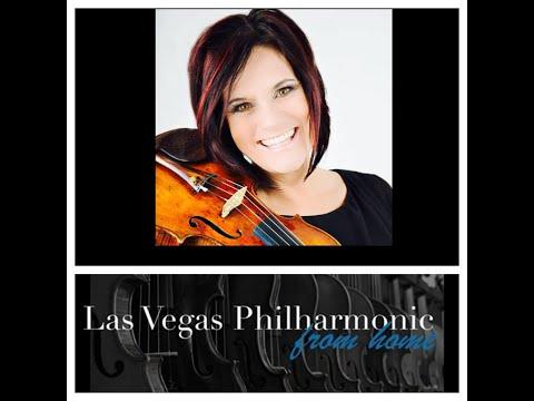 """LVP at Home Presents De Ann Letourneau performing Bach's Violin Partita No. 3 in E Major """"Prelude"""""""