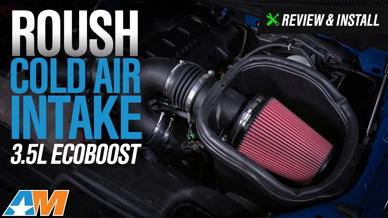 Roush Cold Air Intake (15-17 3 5L EcoBoost F-150, Excluding Raptor)