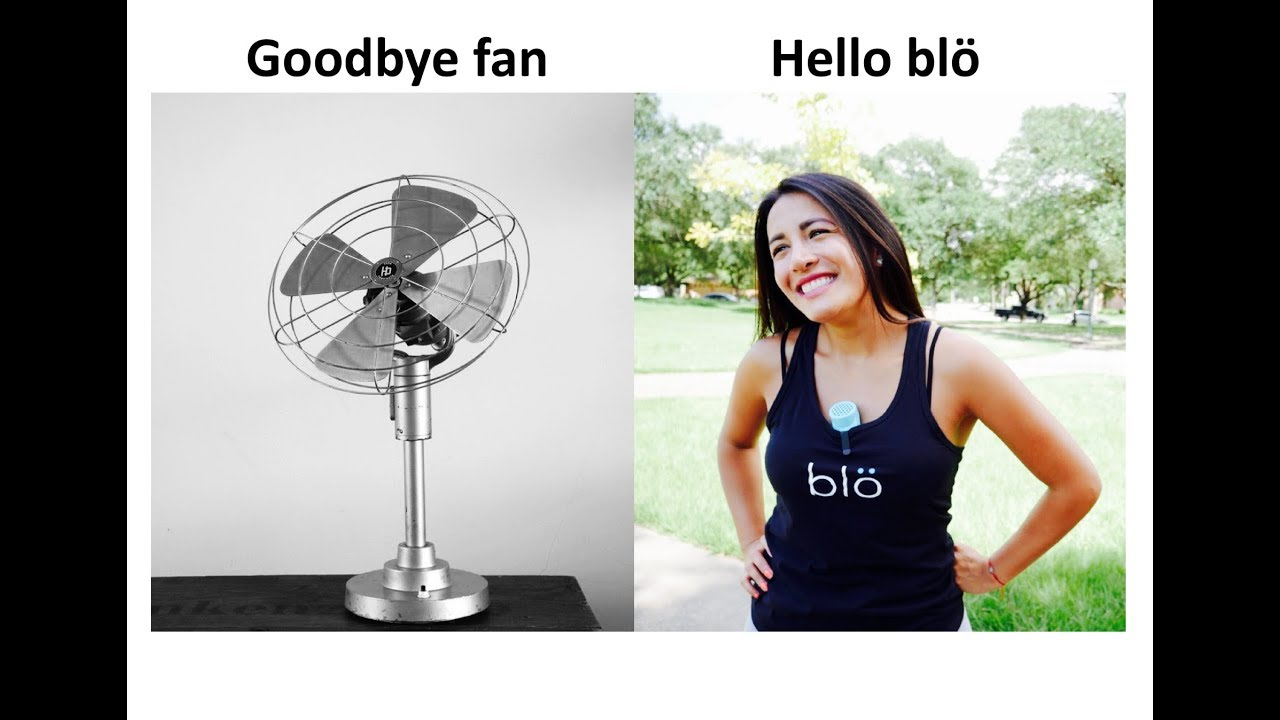 blö - First Micro Cooling Device w Essential Oils | Indiegogo