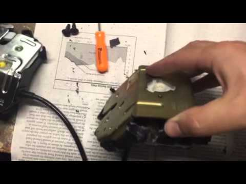2003 Ford Focus trunk latch lock move  YouTube