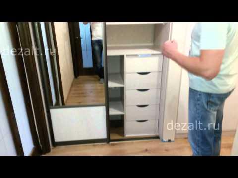 Шкаф купе и распашной шкаф в прихожую