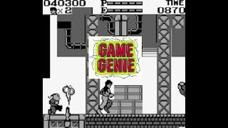 Kung Fu Master Game Genie (Game Boy)