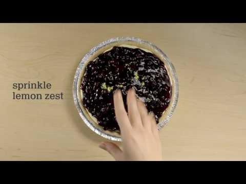 Lemony Blueberry Layered Pie Recipe