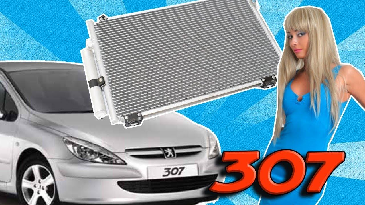 tuto 307 changer condenseur condensateur de climatisation youtube. Black Bedroom Furniture Sets. Home Design Ideas