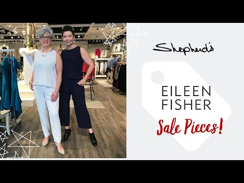 Shepherd's Sun-setting Eileen Fisher System Pieces