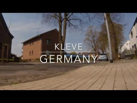 City Tour: Freeskate in Kleve-Germany (GoPro Hero 4 Session)