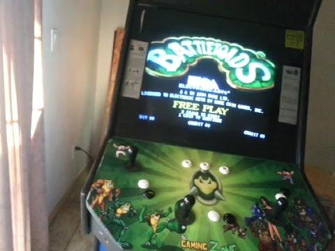 Battletoads Vintage Arcade Finished Project - YouTube
