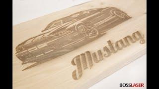 Wood Laser Engraving Machine   Boss Laser LS2440