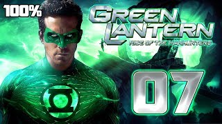 Green Lantern: Rise of the Manhunters Walkthrough Part 7 (PS3, X360, Wii) 100% Mission 7