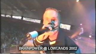 Brainpower & band - Voel De Vibe (Lowlands 2002)