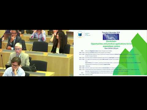ECA conference on blockchain: opportunities and practical applications for EU expenditure control