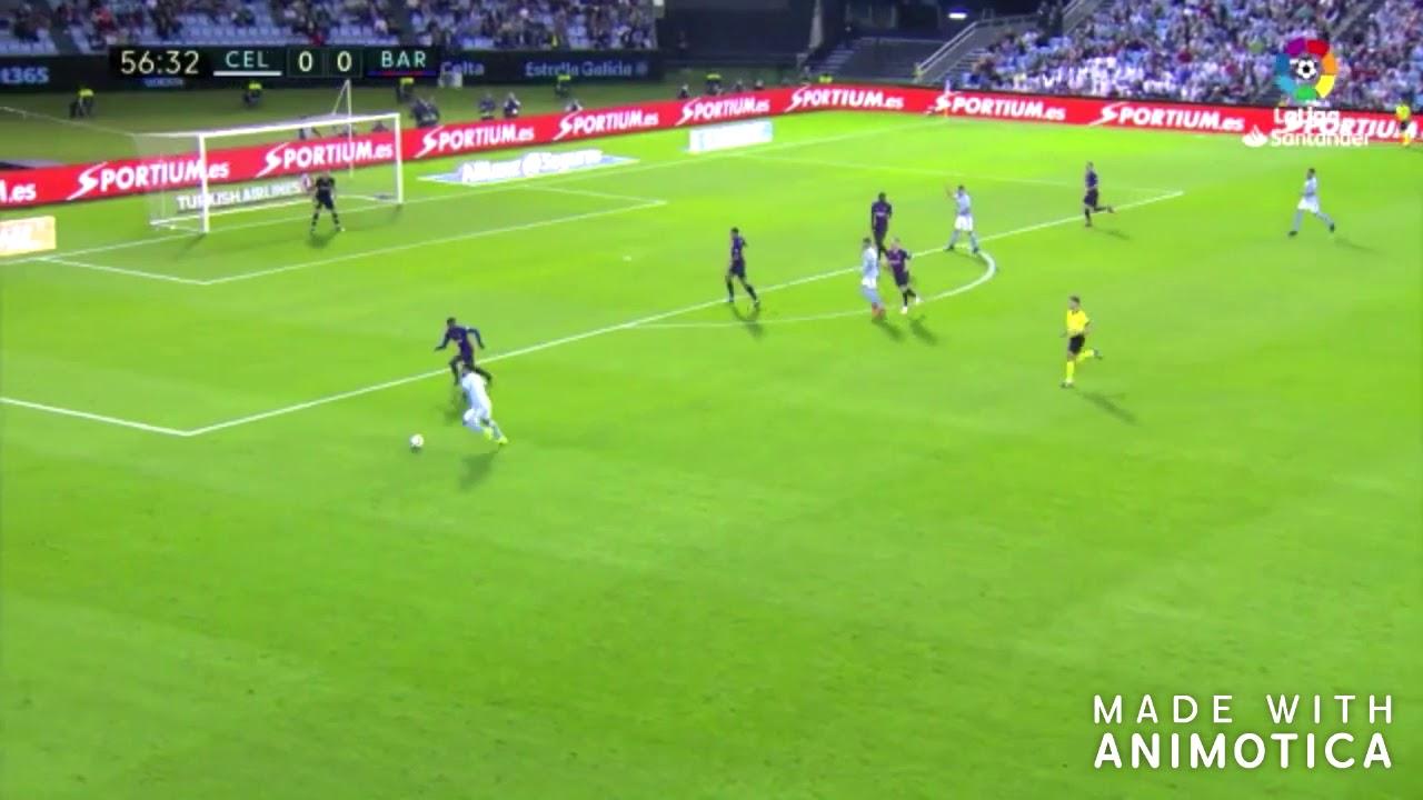 Resumen RC Celta VS FC Barcelona 2 0