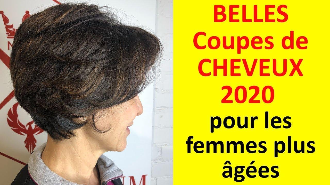 COUPES de CHEVEUX très élégantes 2020 pour les FEMMES de plus de 50 ans #5 - YouTube