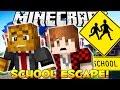 Minecraft ESCAPE FROM SCHOOL Death Run w/ BajanCanadian & JeromeASF