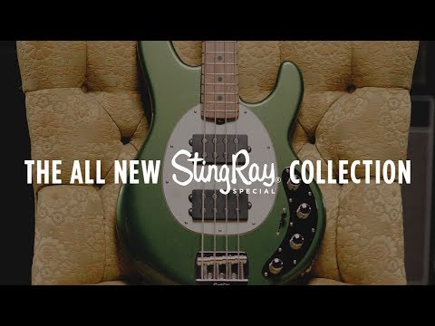 The Ernie Ball Music Man Stingray Special Bass