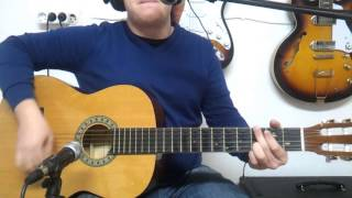 Como Tocar Blowin In The Wind de Bob Dylan - Tutorial HD - FermiGuitarra