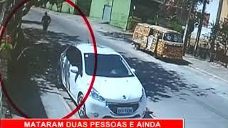 [RONDA GERAL] Câmeras registram duplo homicídio em Candeias