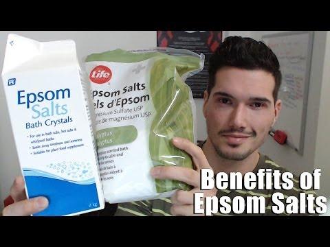 Health Benefits of Epsom Salt Baths - Heal the Body and Mind