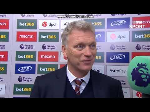 """West Ham are gaining momentum"" - David Moyes post match interview Stoke 0 West Ham 3 #COYI"