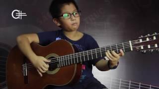 Carulli no.14 - Khải Dương - Lớp Guitar thầy Văn Anh