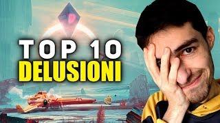 TOP 10 DELUSIONI • Giochi VITTIME del loro stesso HYPE