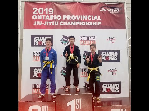 2019 Ontario Provincial Jiu Jitsu Championship Highlights - Kids Jiu-Jitsu Tournament