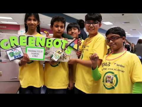 Sunshine STEM Academy FLL Robotics Team GreenBots Receives Presentation Award