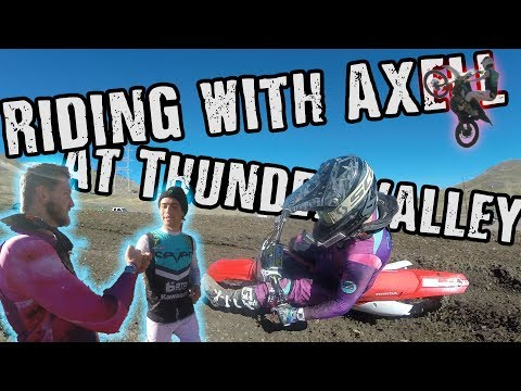 Riding with Axell Hodges!   Thunder Valley Seven MX Ride Day   DwD #124