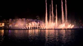 Dubai Fountain, Music: AA Bali Habibi